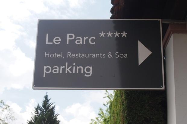 Hotel du Parc Obernai Entrée
