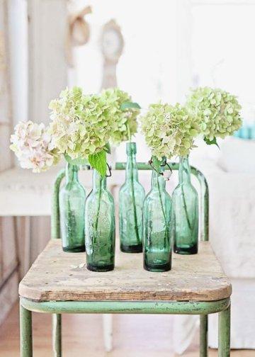 bouteille-vase-vert-mariage-un-monde-confetti